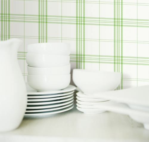 Essener tapete fresh cocina 5 kv27425 cuadro negro papel - Papel pintado vinilo ...