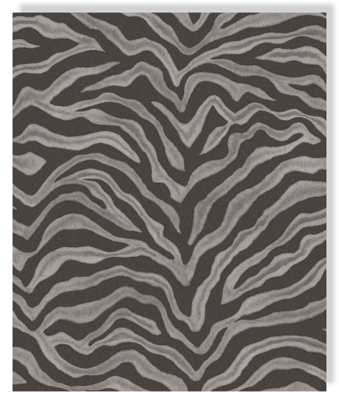 Essener tapete natural fx g67492 zebra piel de papel pared for Papel pintado grueso