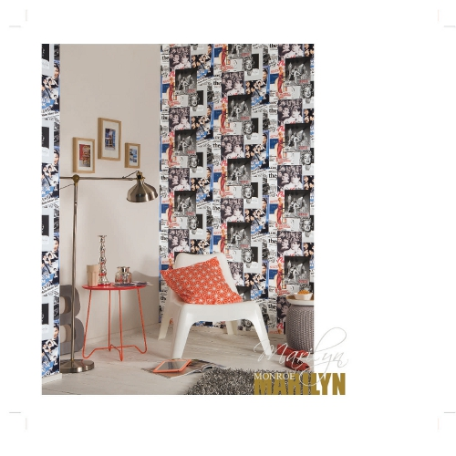 essener les aventures 2017 tappezzeria 51136709 marilyn monroe multicolor ebay. Black Bedroom Furniture Sets. Home Design Ideas