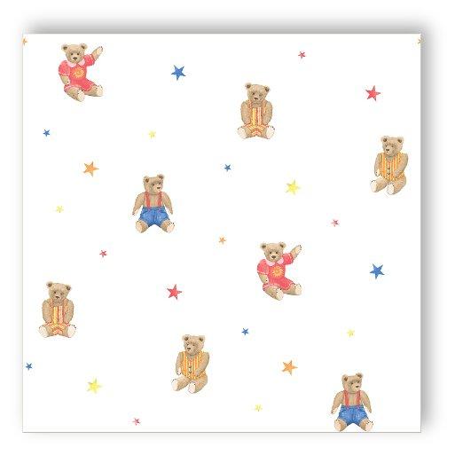 Essener tiny tots g45158 tappezzeria orso stelle teddy for Tappezzeria bambini