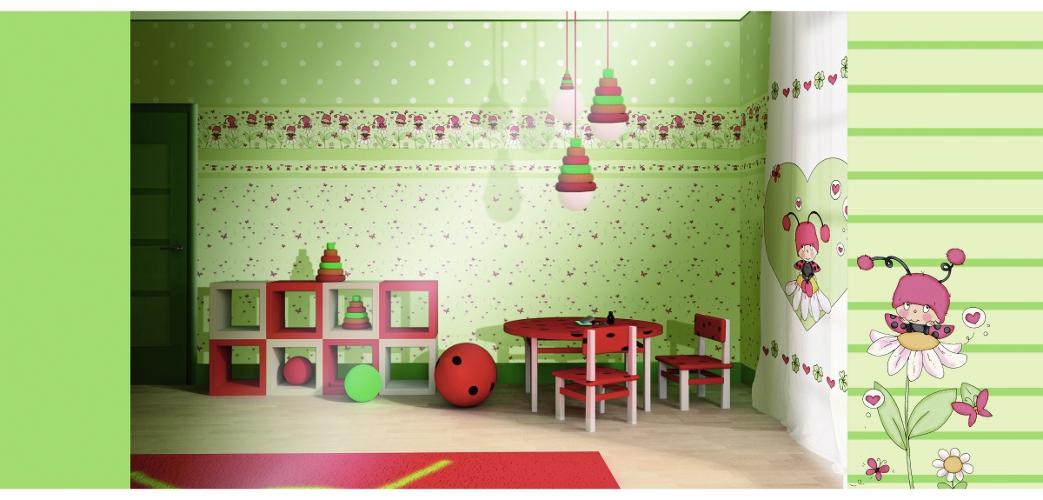 rasch tapeten kinderzimmer. Black Bedroom Furniture Sets. Home Design Ideas
