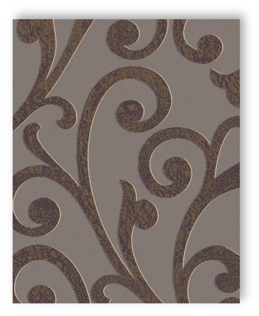marburg ornamental home 55247 gro es ornament lila braun gold tapete vliestapete. Black Bedroom Furniture Sets. Home Design Ideas