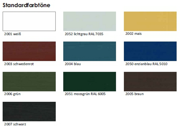 pigrol schwedenhaus deckfarbe 2 5 l schweden farbe 18 80. Black Bedroom Furniture Sets. Home Design Ideas
