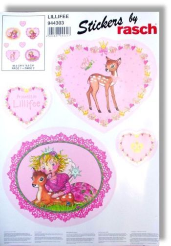 Prinzessin lillifee wandsticker 944303 rasch bambino - Wandsticker prinzessin lillifee ...