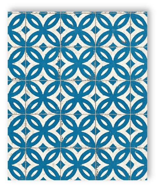 Rasch tapete crispy paper 524703 tile wall tile fleece for Fleece tapete