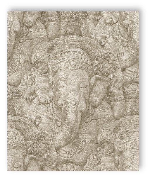 rasch tapete crispy papier 525519 sculpture temple relief. Black Bedroom Furniture Sets. Home Design Ideas