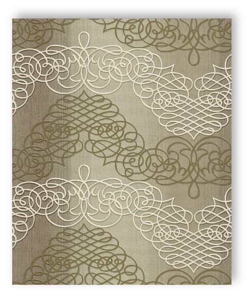 rasch tapete new wave 2015 453621 ornament umbra wei lindgr n vliestapete ebay. Black Bedroom Furniture Sets. Home Design Ideas