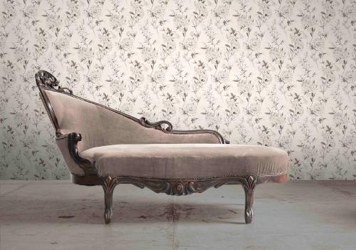 Barock Tapete T?rkis Wei? : Rasch Tapete Bellezza 067361 Rasch Textil Barock Ornament grauwei?