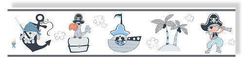 rasch tapete bimbaloo 2 borte 330488 piraten pirat insel. Black Bedroom Furniture Sets. Home Design Ideas