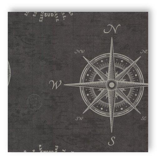 Textil Tapeten Verarbeiten : Rasch Tapete Match Race 021215 Rasch Textil alte Seekarte Kompass grau