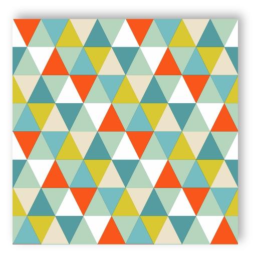 rasch tapete 128708 everybody bonjour dreieck multicolor. Black Bedroom Furniture Sets. Home Design Ideas
