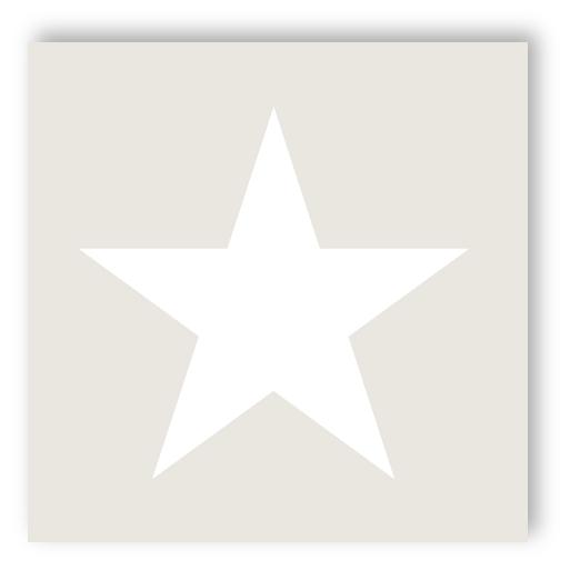 Rasch tapeten kinderzimmer sterne  Rasch Tapete 136465 Everybody Bonjour Stern groß beige weiß ...
