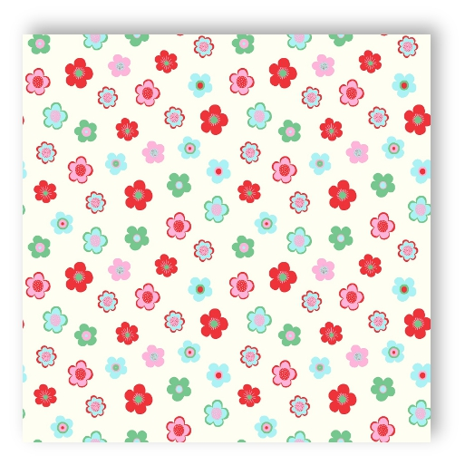 Rasch wallpaper 138726 everybody bonjour flowers white red for Fleece tapete