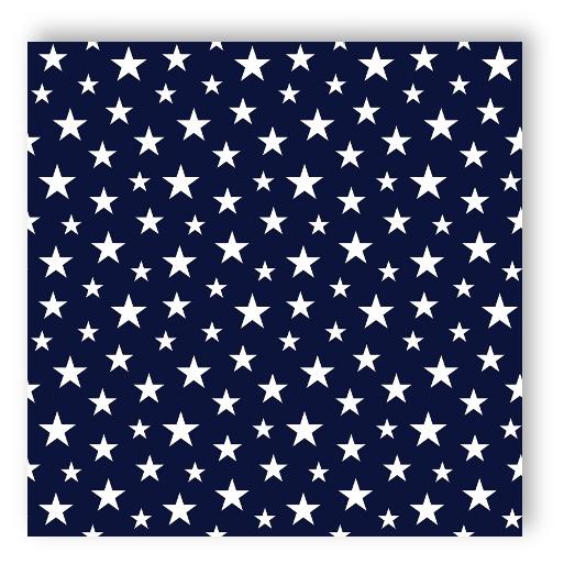Rasch tapete 138730 everybody bonjour sterne dunkelblau for Tapete dunkelblau
