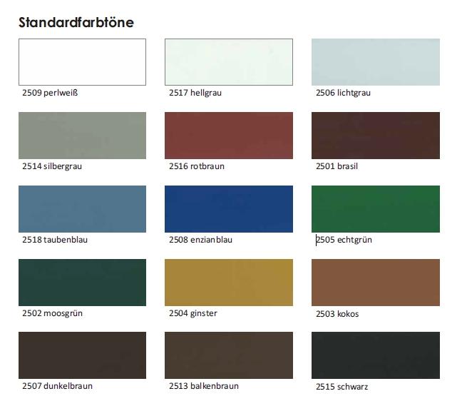 Extrem Pigrol K60 Wetterschutz 2,5 l Wetterschutzfarbe Holzfarbe deckend GF26