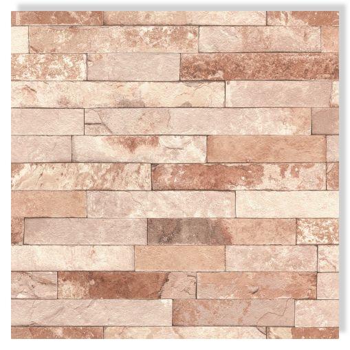 Rasch tapete factory 3 iii 475166 rotbraun steinmauer for Steinmauer tapete